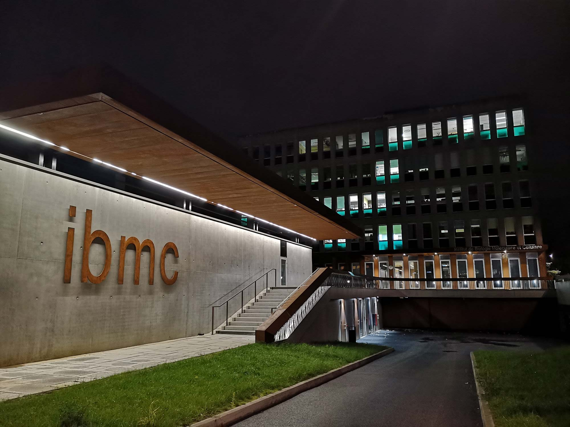 Photo de l'IBMC by Night
