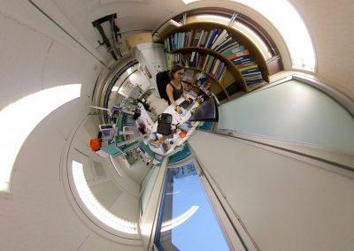 Image en 360°, en tiny Planète
