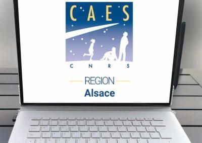 CAES du CNRS, région Alsace