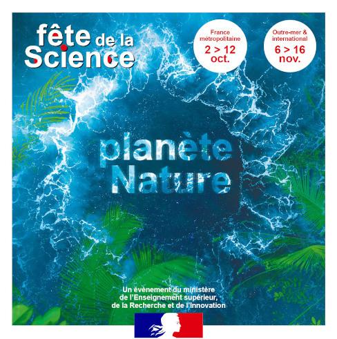 Fête de la science du 05 au 11 Octobre 2020 – Planète Nature